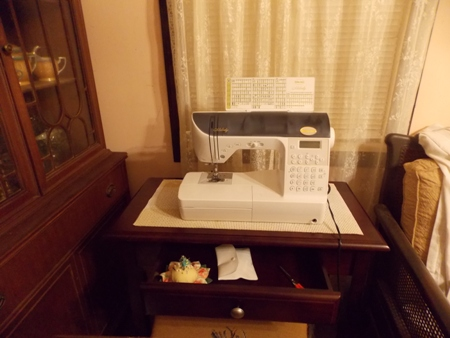 Close up of New Sewing Station with drawer.JPG